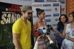 Rajeev Khandelwal and Madalasa Sharma at Waterkingdom to celebrate its 16th Anniversary and promote Samrat & Co. in Mumbai on 27th April 2014 (84)_535e017c2d894.JPG