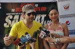 Rajeev Khandelwal and Madalasa Sharma at Waterkingdom to celebrate its 16th Anniversary and promote Samrat & Co. in Mumbai on 27th April 2014 (86)_535e017fcc6e2.JPG