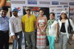 Rajeev Khandelwal and Madalasa Sharma at Waterkingdom to celebrate its 16th Anniversary and promote Samrat & Co. in Mumbai on 27th April 2014 (91)_535e0187c6c37.JPG