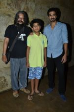 Amole Gupte, Saqib Saleem, Partho Gupte at the Special Screening of Hawaa Hawaai in Lightbox, Mumbai on 29th April 2014 (54)_5360d93f52de4.JPG