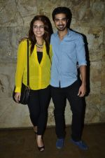 Huma Qureshi, Saqib Saleem at the Special Screening of Hawaa Hawaai in Lightbox, Mumbai on 29th April 2014 (42)_5360d9467268e.JPG