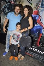 Tanaaz Currim, Bhaktiyar Irani at the Grand Premiere of the Amazing SPIDERMAN 2 in Mumbai on 29th April 2014 (16)_5360d35c128a3.JPG