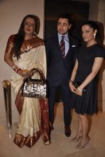 Laxmi Narayan Tripathi, Imran Khan and Celina Jaitley, the goodwill ambassador of the United Nations (UN) Free and Equal Campaign launches her song on LGBT in Mumbai on 30th April 2014( (91)_5362668f01caa.JPG