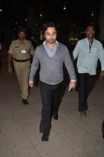 Narayan Rane snapped with family at airport in Mumbai on 30th April 2014 (1)_536253d9bc8b3.JPG
