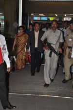 Narayan Rane snapped with family at airport in Mumbai on 30th April 2014 (5)_536253f32c52f.JPG