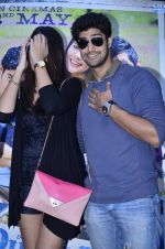Tanuj Virwani, Izabelle Leite at the Interview for the film Purani Jeans in Mumbai on 30th April 2014 (20)_53625782c3585.JPG