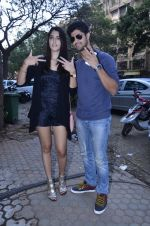 Tanuj Virwani, Izabelle Leite at the Interview for the film Purani Jeans in Mumbai on 30th April 2014 (22)_5362578c37922.JPG