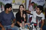 Tanuj Virwani, Izabelle Leite, Aditya Seal at the Interview for the film Purani Jeans in Mumbai on 30th April 2014 (49)_536258db52e1c.JPG