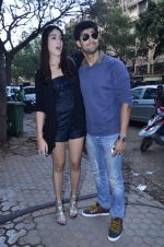 Tanuj Virwani, Izabelle Leite at the Interview for the film Purani Jeans in Mumbai on 30th April 2014 (24)_53625886c2212.JPG