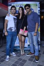 Tanuj Virwani, Izabelle Leite, Aditya Seal at the Interview for the film Purani Jeans in Mumbai on 30th April 2014 (22)_536257b488646.JPG