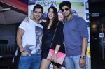 Tanuj Virwani, Izabelle Leite, Aditya Seal at the Interview for the film Purani Jeans in Mumbai on 30th April 2014 (23)_536256e666c5a.JPG