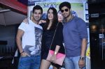 Tanuj Virwani, Izabelle Leite, Aditya Seal at the Interview for the film Purani Jeans in Mumbai on 30th April 2014 (24)_536258c20782a.JPG