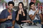 Tanuj Virwani, Izabelle Leite, Aditya Seal at the Interview for the film Purani Jeans in Mumbai on 30th April 2014 (46)_536256efd7f67.JPG
