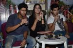 Tanuj Virwani, Izabelle Leite, Aditya Seal at the Interview for the film Purani Jeans in Mumbai on 30th April 2014 (47)_536257be4ef84.JPG