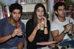 Tanuj Virwani, Izabelle Leite, Aditya Seal at the Interview for the film Purani Jeans in Mumbai on 30th April 2014 (48)_536256f3f2fe6.JPG