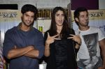 Tanuj Virwani, Izabelle Leite, Aditya Seal at the Interview for the film Purani Jeans in Mumbai on 30th April 2014 (61)_5362570be979e.JPG