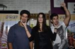 Tanuj Virwani, Izabelle Leite, Aditya Seal at the Interview for the film Purani Jeans in Mumbai on 30th April 2014 (62)_536258ef6d609.JPG