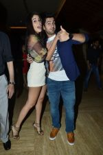 Izabelle Liete, Aditya Seal at the Special screening of Purani Jeans in Mumbai on 1st May 2014 (20)_53635940ccc38.JPG