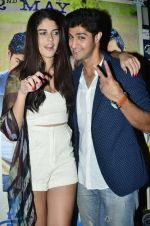 Izabelle Liete, Tanuj Virwani at the Special screening of Purani Jeans in Mumbai on 1st May 2014 (12)_53635593b931b.JPG