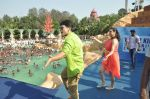 Shruti Marathe, Gaurav Ghatnekar at Tujhi Majhi Lovestory promotion at Waterkingdom in Mumbai on 1st May 2014 (100)_53635163bf8ae.JPG