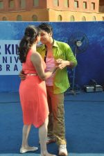 Shruti Marathe, Gaurav Ghatnekar at Tujhi Majhi Lovestory promotion at Waterkingdom in Mumbai on 1st May 2014 (109)_53635182a1e35.JPG