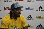 chris gayle at addidas fifa event in Priyadarshini Park, Mumbai on 8th May 2014 (11)_536c5ce5cc57d.JPG