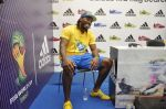 chris gayle at addidas fifa event in Priyadarshini Park, Mumbai on 8th May 2014 (12)_536c5cf458633.JPG