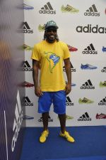 chris gayle at addidas fifa event in Priyadarshini Park, Mumbai on 8th May 2014 (2)_536c5c5f62eea.JPG