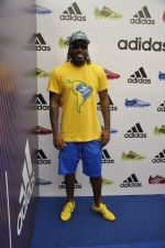 chris gayle at addidas fifa event in Priyadarshini Park, Mumbai on 8th May 2014 (3)_536c5c73e4070.JPG