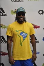 chris gayle at addidas fifa event in Priyadarshini Park, Mumbai on 8th May 2014 (5)_536c5c8aa4116.JPG