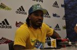 chris gayle at addidas fifa event in Priyadarshini Park, Mumbai on 8th May 2014 (6)_536c5c9750992.JPG