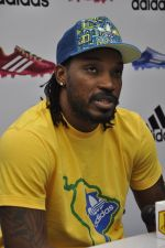 chris gayle at addidas fifa event in Priyadarshini Park, Mumbai on 8th May 2014 (8)_536c5da948ff0.JPG