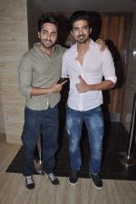 Ayushmann Khurrana promotes Hawaa Hawaai with Saqib Saleem in PVR, Mumbai on 9th May 2014 (49)_536dbf49465d2.JPG