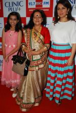 Tisca Chopra, Himani Shivpuri, Sparsh Khanchandani at Maa Ke Aanchal Mein - Radio Ki Pehli Feature Film on Mother_s day theme in Big FM on 9th May 2014 (65)_536dc2fedfd87.JPG