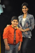 Sakshi Tanwar on the sets of Captain Tiao show in Mehboob, Mumbai on 10th May 2014 (29)_536f285b207d4.JPG