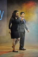 Shruti Marathe, Gaurav Ghatnekar at Tujhi Majhi Lovestory film promotions in Dadar, Mumbai on 12th May 2014 (18)_537183efc77dd.JPG