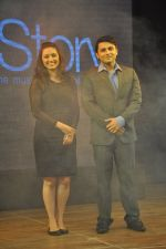 Shruti Marathe, Gaurav Ghatnekar at Tujhi Majhi Lovestory film promotions in Dadar, Mumbai on 12th May 2014 (21)_537183f2bd8b9.JPG