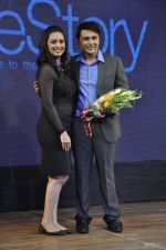 Shruti Marathe, Gaurav Ghatnekar at Tujhi Majhi Lovestory film promotions in Dadar, Mumbai on 12th May 2014 (27)_537183fdabf6b.JPG