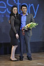 Shruti Marathe, Gaurav Ghatnekar at Tujhi Majhi Lovestory film promotions in Dadar, Mumbai on 12th May 2014 (29)_537184022c7e2.JPG