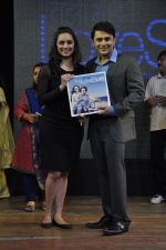 Shruti Marathe, Gaurav Ghatnekar at Tujhi Majhi Lovestory film promotions in Dadar, Mumbai on 12th May 2014 (40)_5371841699611.JPG