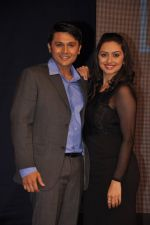 Shruti Marathe, Gaurav Ghatnekar at Tujhi Majhi Lovestory film promotions in Dadar, Mumbai on 12th May 2014 (55)_53718425868b7.JPG