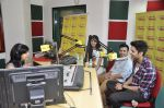 Siddharth Gupta,Simran Kaur mundi,Ashish Juneja promotes Kuku Mathur Ki Jhand Ho Gayi film at Radio Mirchi in Parel on 16th May 2014 (6)_5376fa103f3b8.JPG