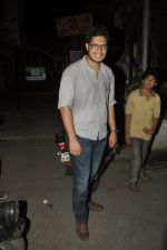 Junaid Khan snapped outside Pali Bhuvan in Bandra, Mumbai on 17th may 2014 (61)_53789d9d3eb42.JPG