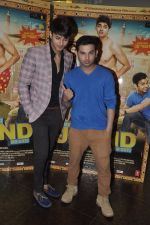Siddharth Gupta, Ashish Juneja at Kuku Mathur Ki Jhand Ho Gayi film promotions in Yashraj, Mumbai on 19th May 2014 (40)_537af2fa631d3.JPG