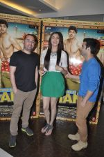 Simran Kaur Mundi,  Ashish Juneja at Kuku Mathur Ki Jhand Ho Gayi film promotions in Yashraj, Mumbai on 19th May 2014 (18)_537af30e32126.JPG