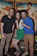 Simran Kaur Mundi,  Ashish Juneja at Kuku Mathur Ki Jhand Ho Gayi film promotions in Yashraj, Mumbai on 19th May 2014 (21)_537af30f2e92e.JPG