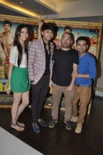 Simran Kaur Mundi, Siddharth Gupta, Ashish Juneja at Kuku Mathur Ki Jhand Ho Gayi film promotions in Yashraj, Mumbai on 19th May 2014 (29)_537af30faefff.JPG