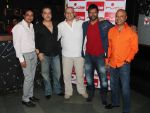 Hapreet Singh Ahluwalia, Ravi Behl, host and composer Raju Singh, Jaaved Jaaferi and Naved Jaaferi at the Boogie Woogie karaoke party at Rude Lounge, Bandra_537cb4e397f34.jpg
