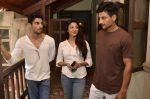 Prateik Babbar, Paoli Dam on the sets of bilingual film by Aroni Taukhon in Mumbai on 20th May 2014 (14)_537cc86982e99.JPG