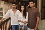 Prateik Babbar, Paoli Dam on the sets of bilingual film by Aroni Taukhon in Mumbai on 20th May 2014 (16)_537cc86a2edfd.JPG